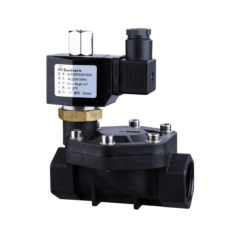 SLP Plastic Series 2/2-way Pilot Operated Solenoid Valve·Normally Open