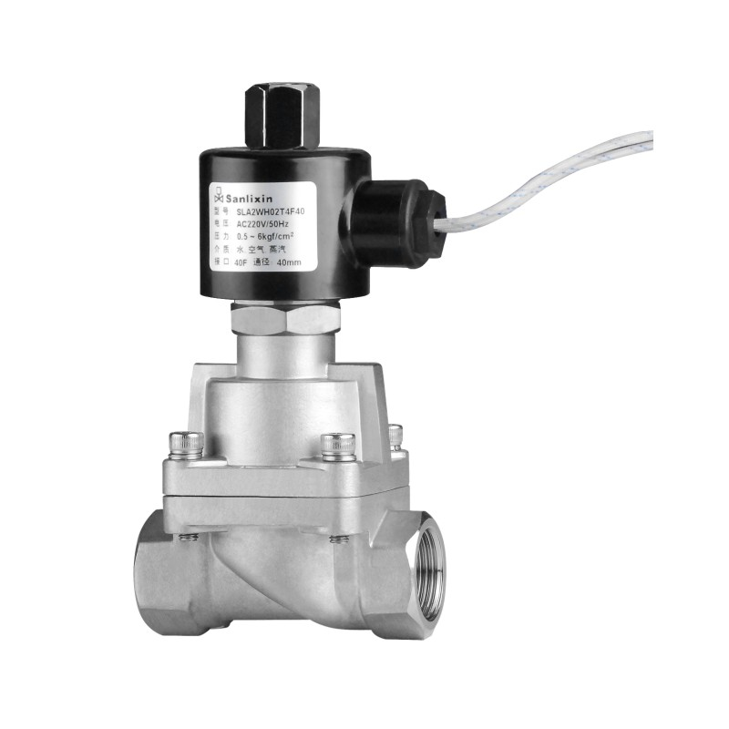 SLA 2/2-way Pilot Operated Piston Solenoid Valve·Normally Open