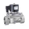 ZKS 2/2-way Large Diameter Direct Acting Vacuum Solenoid Valve Normally Closed